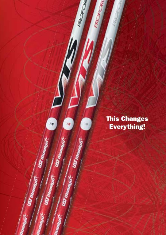 UST Mamiya Proforce VTS Shafts